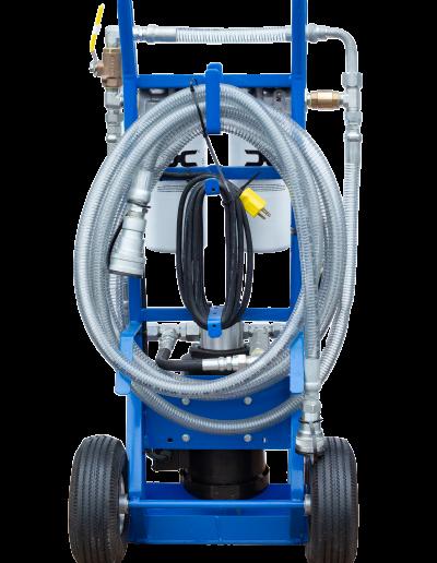 Des-Case Filter Cart Back