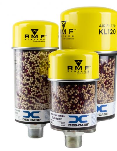 Des-Case RMF Systems Titan Desiccant Breather Series 1.1